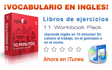 Vocabulario en inglés audio/MP3 podcast - ebooks