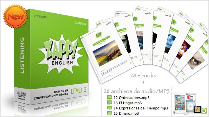 Descargar Zapp! Inglés Listening Intermedio e-Books y Audio/MP3