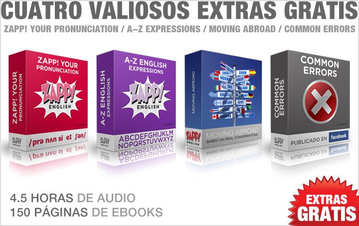 Descargar Zapp! Inglés Avanzado Super Pack Extras!