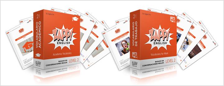 Zapp! Inglés Vocabulario Académico y Vocabulario de Trabajo Pack eBooks