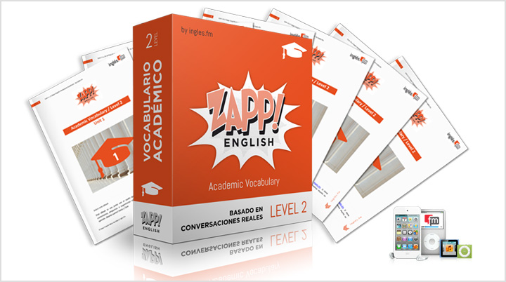 Zapp! Inglés Vocabulario Académico Intermedio - audio MP3 elibros