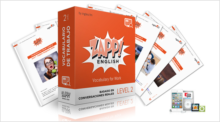 Zapp! Inglés Vocabulario de Trabajo Intermedio - audio pronunciación mp3 e-books