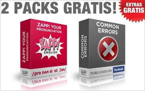 Zapp! Inglés Vocabulario y Pronunciación Intermedio Extras!