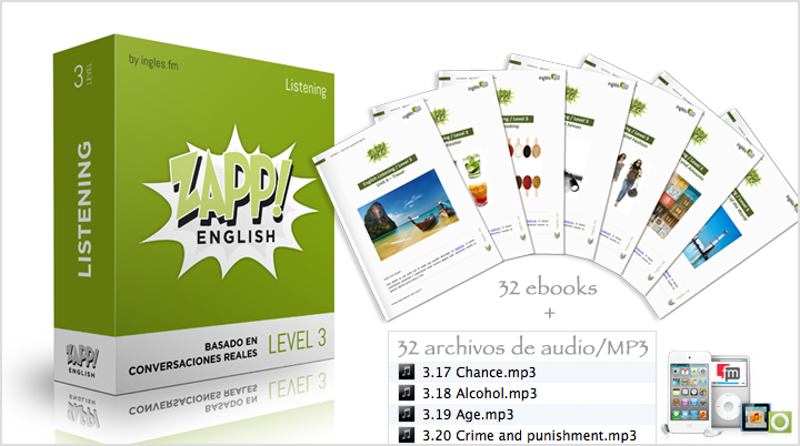 Descargar Zapp! Inglés Listening Avanzado e-Books y Audio/MP3