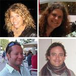 Tom, Mark, Katie y Amanda - Profesores de Inglés - Zapp! Inglés Avanzado